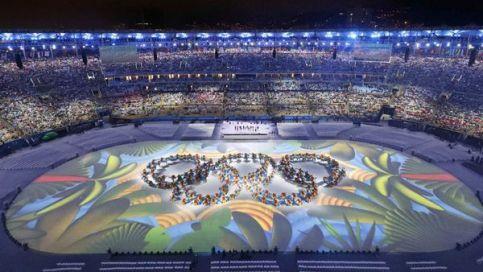 Inauguración de los Juegos Olímpicos en el estadio Maracaná. (Reuters)