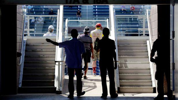 Todo listo en Flushing Meadows para el comienzo del US Open 2016 (AP)