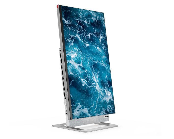 La Lenovo Yoga AIO 7 es un computadora 2 en 1 que puede rotar para ponerse en versión horizontal o vertical