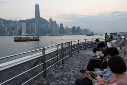 El distrito financiero de Hong Kong. REUTERS/Tyrone Siu