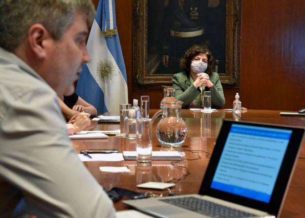Vizzotti reunión con ministros de provincias