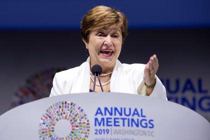 Kristalina Georgieva, directora gerente del Fondo Monetario Internacional (EFE/Erik S. Lesser/Archivo)