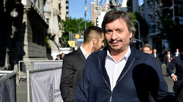 Máximo Kirchner fue el encargado de hacerle la propuesta a la oposición durante el encuentro en la Casa Rosada (Gustavo Gavotti)