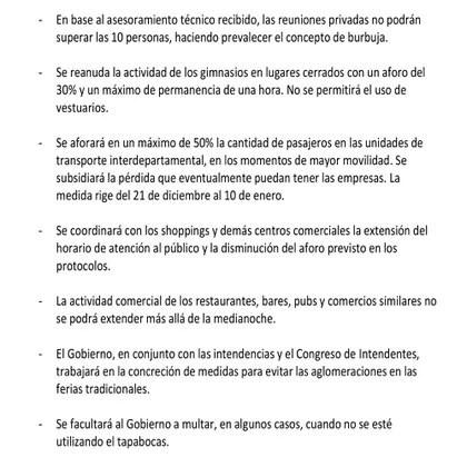 Decreto de movilidad Uruguay 2