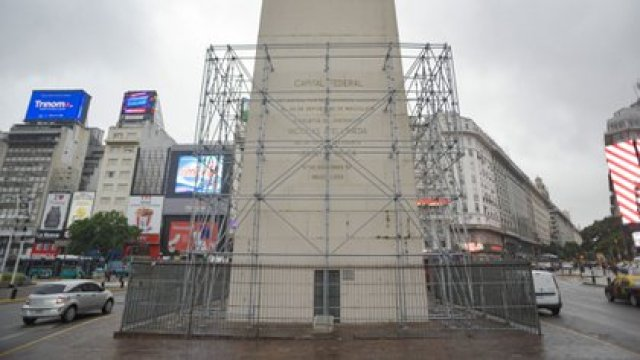 También se restaurarán las rejas perimetrales (Adrián Escandar)