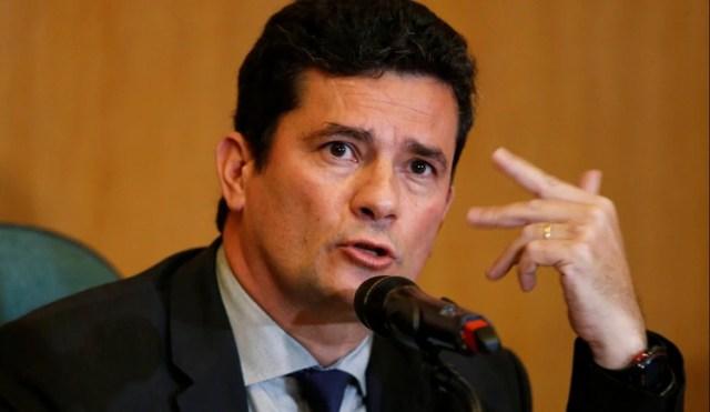 Sergio Moro condenó a Lula en primera instancia en 2017 y renunció a su cargo de juez para asumir como ministro de Justicia del presidente brasileño, Jair Bolsonaro (Reuters)