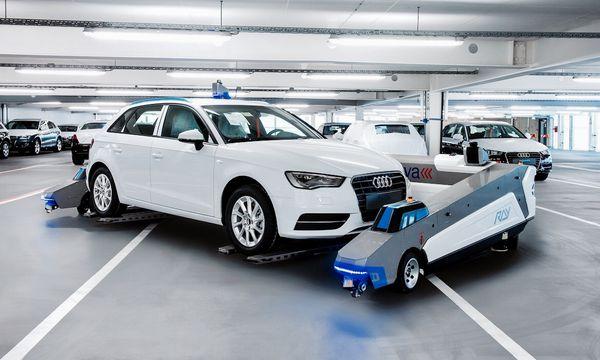 Sistemas de estacionamiento completamente automatizados harán que los robots tomen el lugar de los hombres en tareas menos calificadas, al menor en una primera instancia,