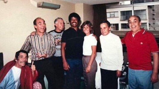 Ramón Valdés en un momento familiar  poco antes de su fallecimiento (Foto: Instagram)