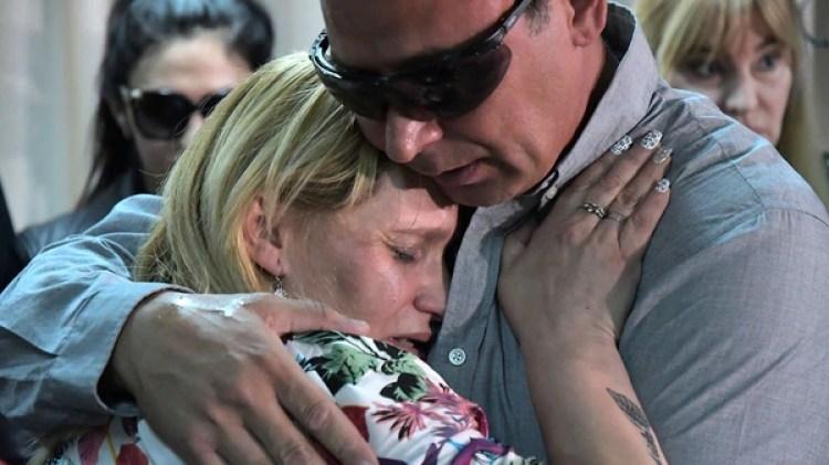"""Carola Labrador y """"Juancho"""" Rodríguez, los padres de Candela"""