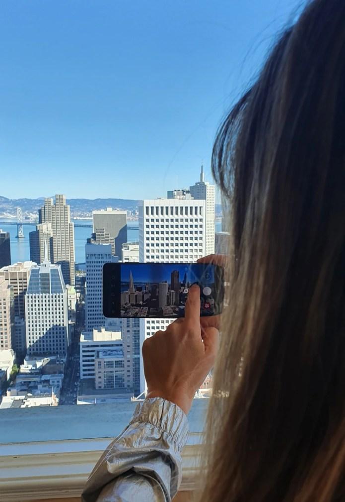 El Samsung Galaxy S20 Ultra permite hacer zoom de hasta 100 aumentos.