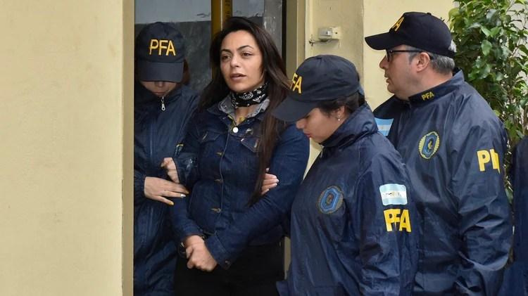 Carolina Pochetti aseguró que Rodríguez cobró una coima de 10 millones de dólares (foto Adrián Escandar)