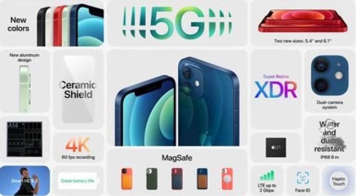 las características del iPhone 12 y iPhone 12 mini