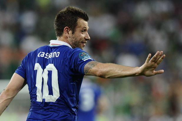 Cassano explicó por qué, para él, Messi es mejor que Maradona (Shutterstock)