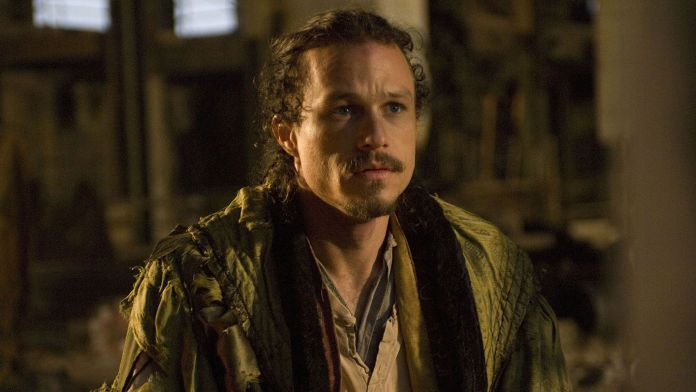 "Heath Ledger en ""The Imaginarium Of Doctor Parnassus"" de Terry Gilliam /Shutterstock"