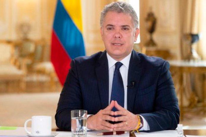 """Iván Duque anunció su plan para contrarrestar la """"embestida de la pandemia"""" (EFE/ Presidencia de Colombia)"""