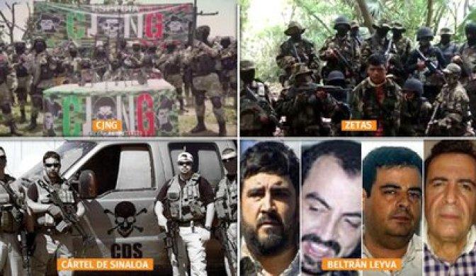 CJNG y Cártel de Sinaloa: dos organizaciones criminales dominan el mapa del  narco en México - Infobae