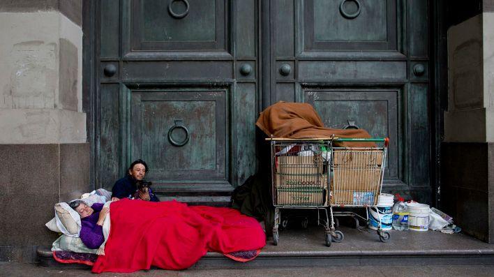 La pobreza era de un 35% y creció más cuando estalló la pandemia