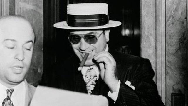 Al Capone murió en su casa de la Florida en 1947. Tenía 48 años. Esta solo, demente, enfermo y arruinado (Shutterstock)