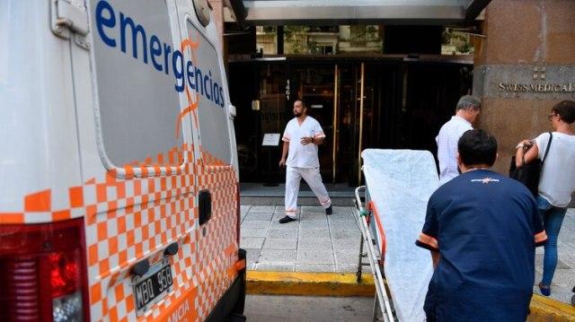 La clínica Suizo Argentina en Recoleta (Foto: Maximiliano Luna)