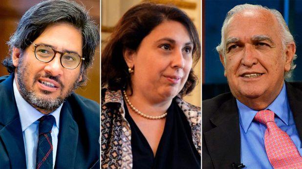Ricardo Gil Lavedra, German Garavano y Paula Oliveto