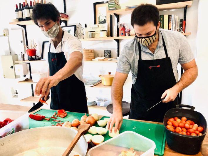 vecinos de Tigre - cocineros