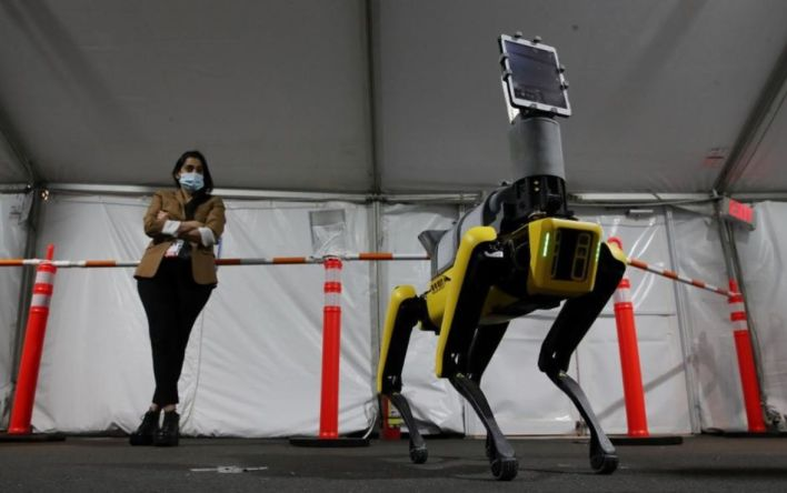 Boston Dynamics Spot robot