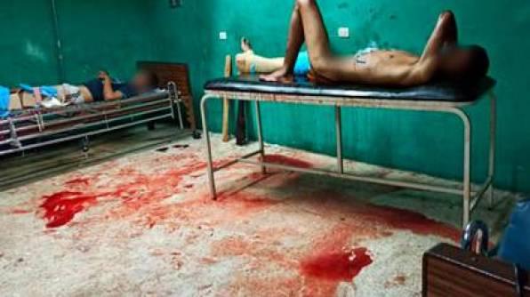 El hospital Dr. Miguel Oraá, donde fueron trasladados los heridos, está colapsado