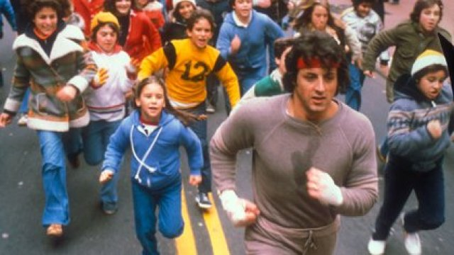 Una escena de Rocky 2, La revancha (United Artists/Kobal/Shutterstock)