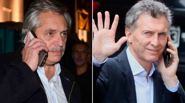 Alberto Fernández y Mauricio Macri hablaron por teléfono