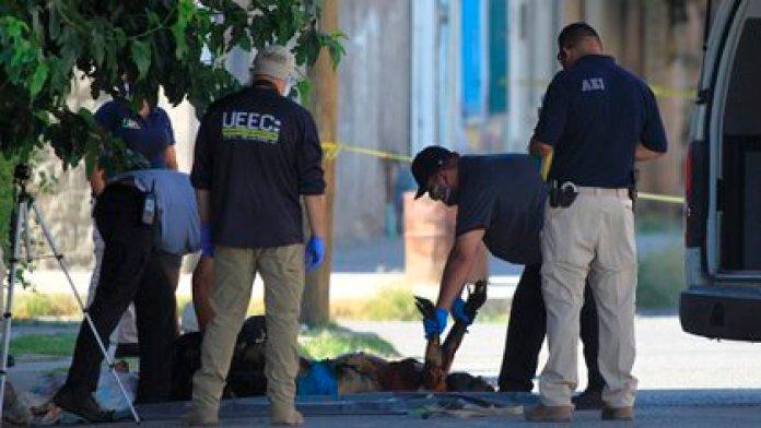 Image of violence in Mexico.  Ciudad Juárez, Chihuahua (Photo: EFE / Luis Torres)