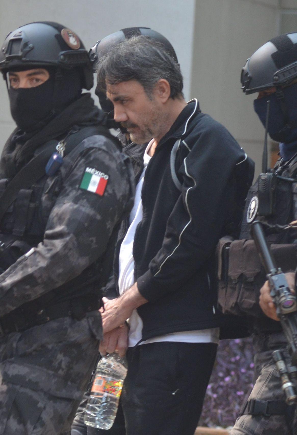 """Damaso López Núnez, mejor conocido como """"El licenciado"""", fue detenido en la zona residencial Hares en la Colonia Nueva Anzures junto con sus esposa Rocío """"N"""". (FOTO: ESPECIAL / CUARTOSCURO)"""