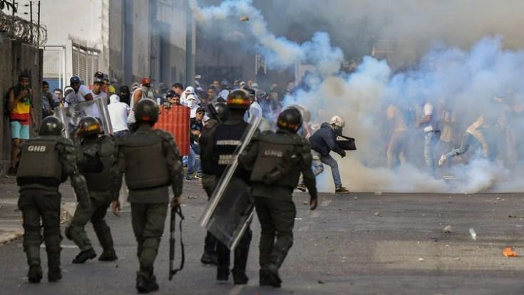 El Departamento de Estado denunció torturas, represión y abusos a los derechos humanos por parte de las fuerzas de seguridad venezolanas (AFP)