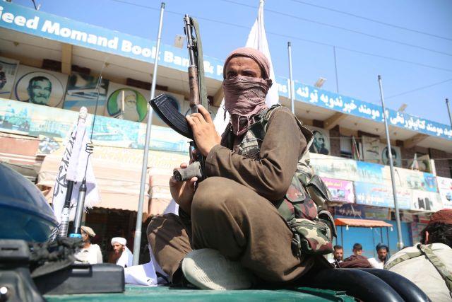 Combatiente talibán en Afganistán