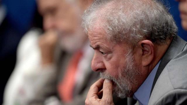 Lula de Silva, ex presidente de Brasil (AFP)