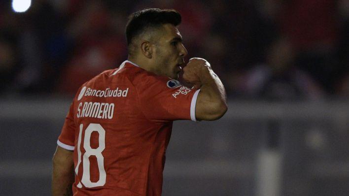 Silvio Romero llegó a Independiente en enero del 2018 (Foto: AFP)