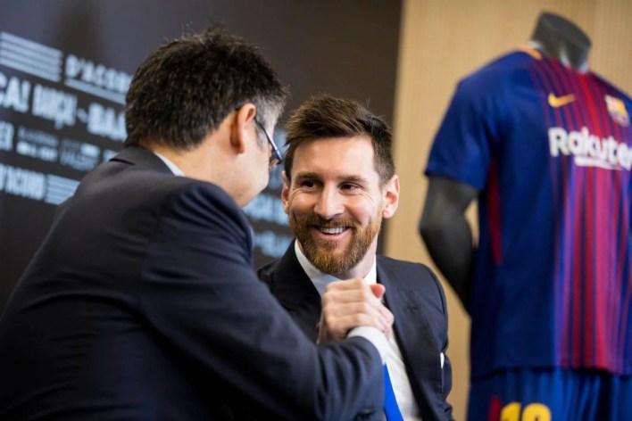 La relación entre Lionel Messi y Josep Maria Bartomeu parece no tener vuelta atrás