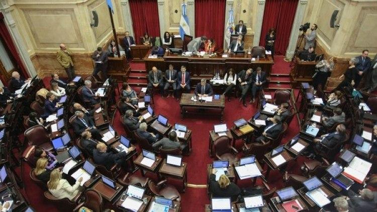 El Senado tratará este miércoles la ley de la interrupción voluntaria del embarazo (NA)