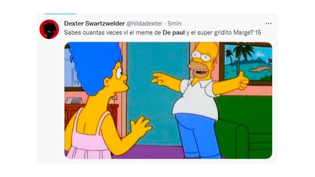 Los mejores memes por el look de Rodrigo De Paul