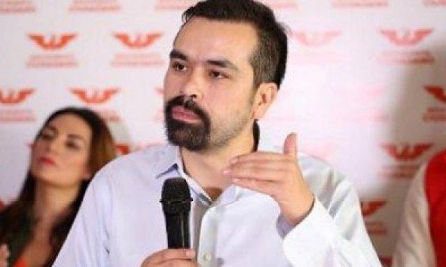 Jorge Álvarez Máynez fue el encargado de Movimiento Ciudadano de posicionarse sobre este tema (Foto: especial)