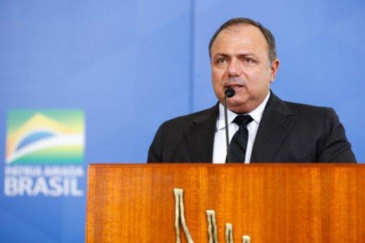 El ministro de Salud de Brasil, Eduardo Pazuello