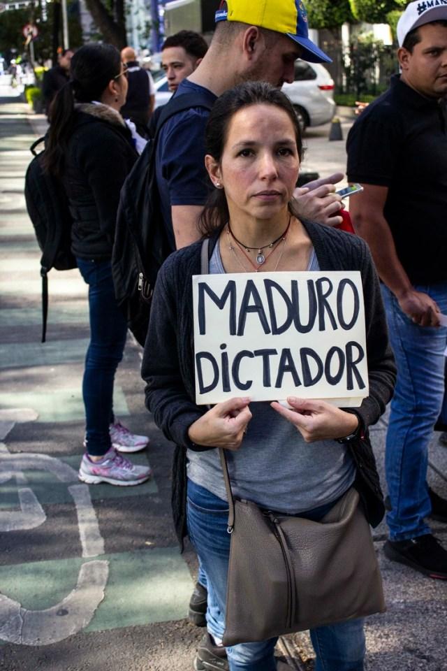 Oriette Schadendorf, hija del ex alcalde metropolitano de Caracas, Antonio Ledezma