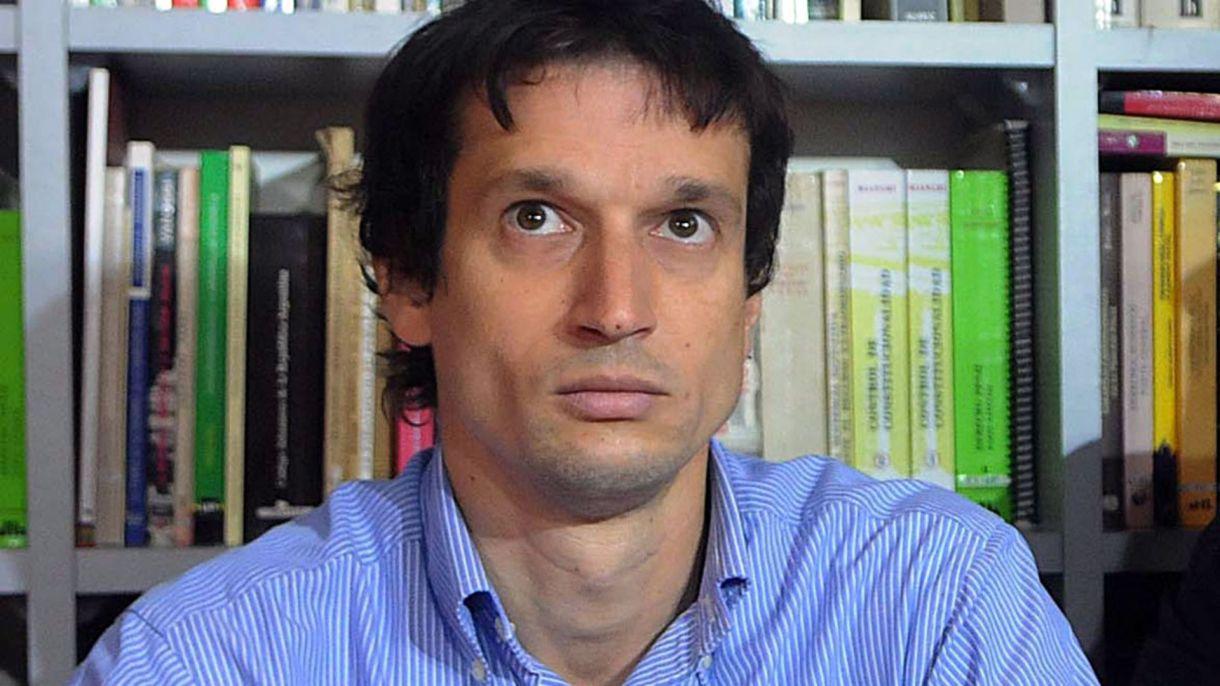 Diego Lagomarsino, dueño del arma con la que murió el fiscal (Nicolás Stulberg)