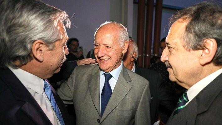 Fernández le tiene una gran estima a Lavagna pero tensa la cuerda en el vinculo político (Presidencia)