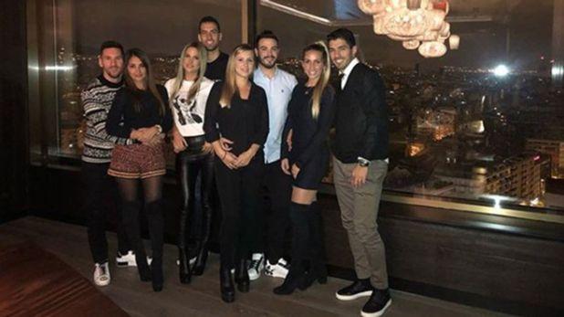 Lionel Messi organizó una celebración especial para festejar la obtención de su sexto Balón de Oro (@antonelaroccuzzo)