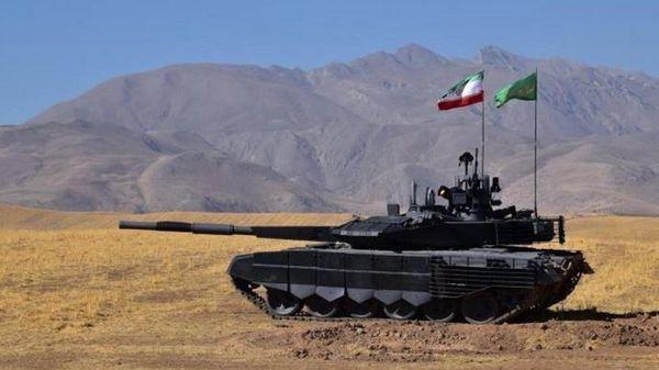 """El tanque """"Karrar"""" es de producción iraní"""