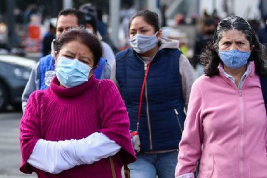 In Nuevo León they began to sanction people who did not wear face masks in public spaces since November 1, 2020 (Photo: Galo Cañas / Cuartoscuro)