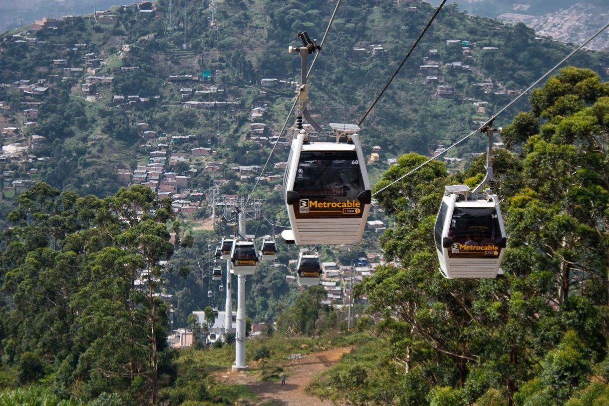 Medellín es uno de los ejemplos destacados de innovación en temas de movilidad urbana