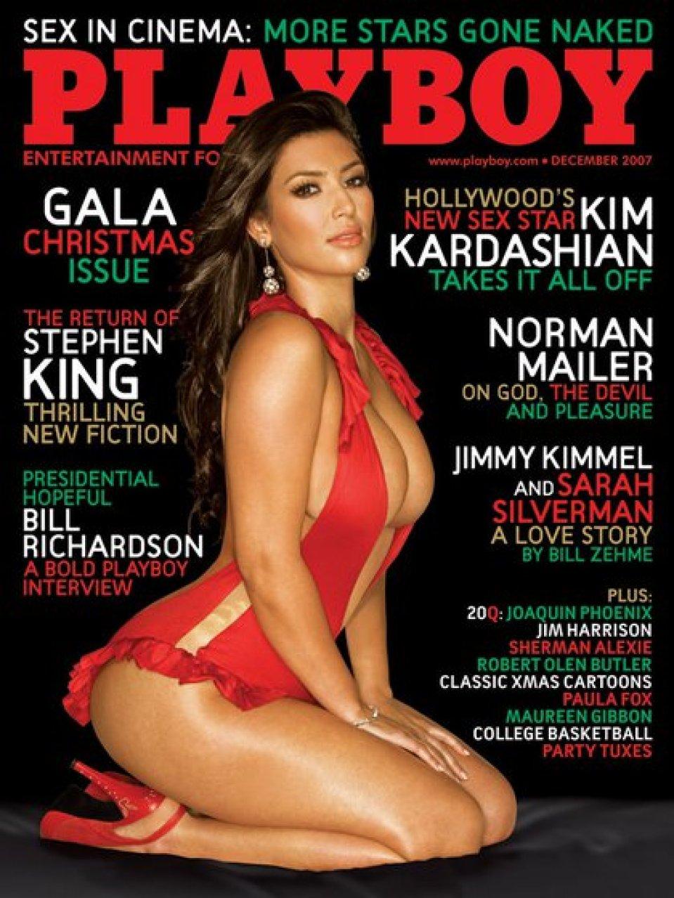 Kim Kardashian en Playboy