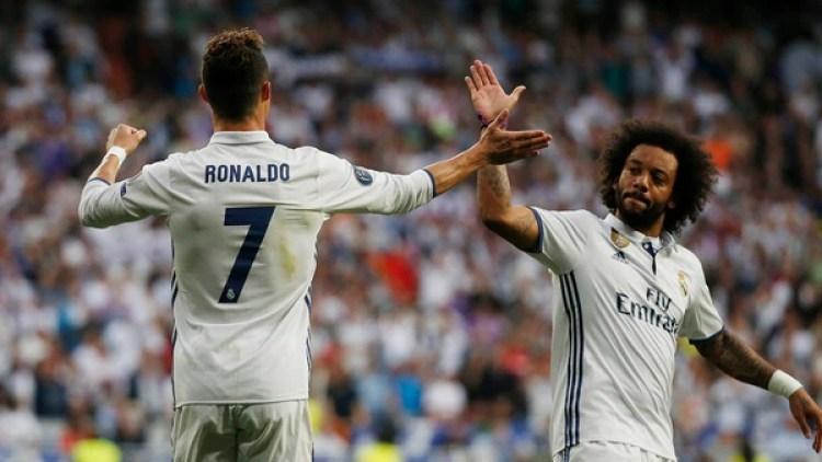 Marcelo quiere reencontrarse con Cristiano Ronaldo (Reuters)