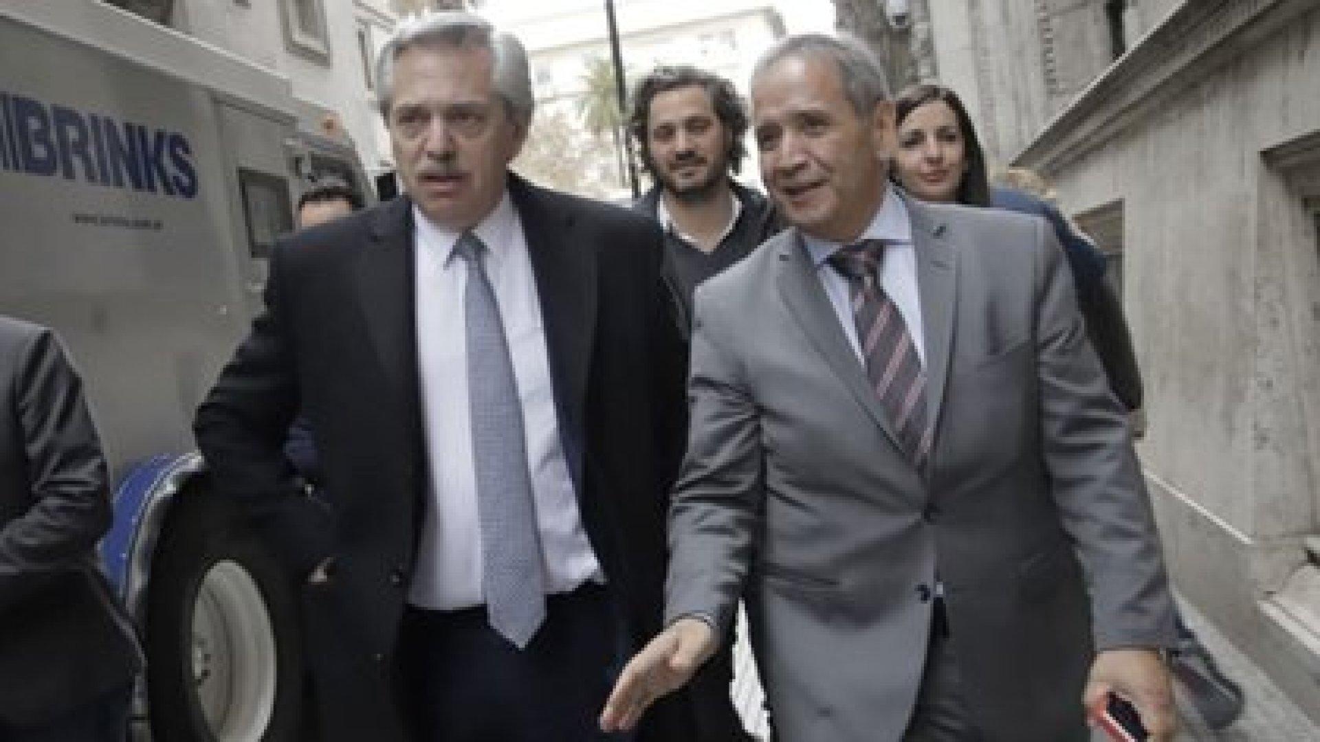 Sergio Palazzo es uno de los dirigentes más cercanos a Alberto Fernández